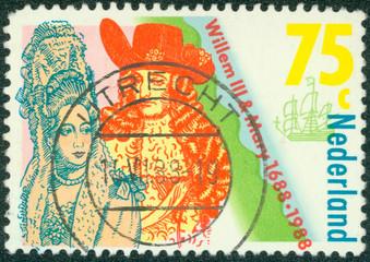 Coronation of William III and Mary Stuart