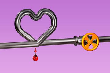 Pipeline - Herz - Tropfen