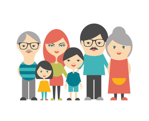 Multi generation family.
