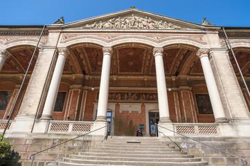 Trinkhalle mit korinthischen Säulen, Baden-Baden, Schwarzwald,