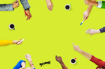 People Meeting Discussion Friendship Togetherness Team Concept