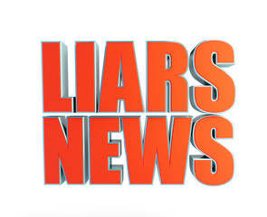 liars news a white background