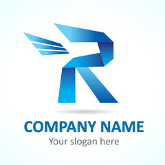 R fly logo