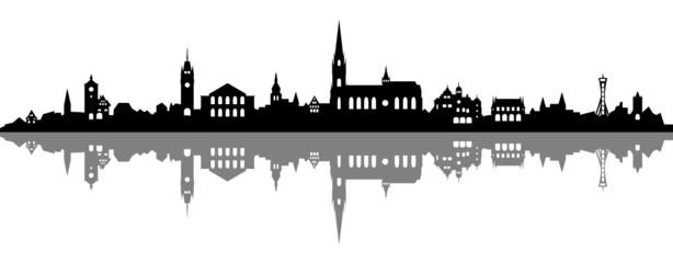 Skyline Freiburg im Breisgau