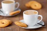 Kaffee und Kekse