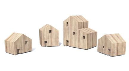 wooden Village