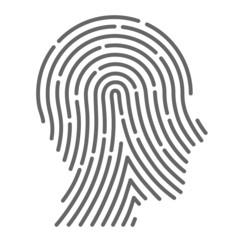 Symbol fingerprint head