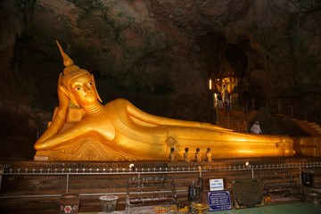 excursion to the temple Wat Suwan Kuha