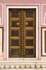 Beautiful Ornate Door in jaipur-rajasthan, India