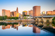 Hartford, Connecticut, USA City Skyline