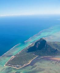 Aerial view Mauritius