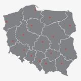 podział administracyjny polski, województwa - 77555384