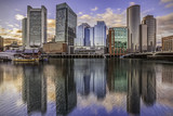 Boston at Sunset in MA, USA - Fine Art prints