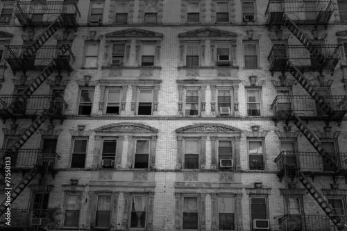 Foto op Aluminium New York Soho building facades in Manhattan New York City
