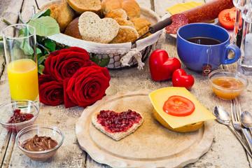 Frühstück mit Liebe