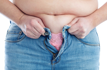 To fat to fit jeans
