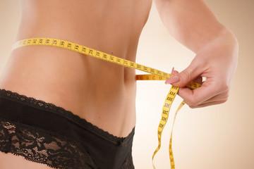 Bauchumfang reduzieren durch Diät