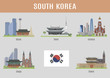 Cities in South Korea - 77560791