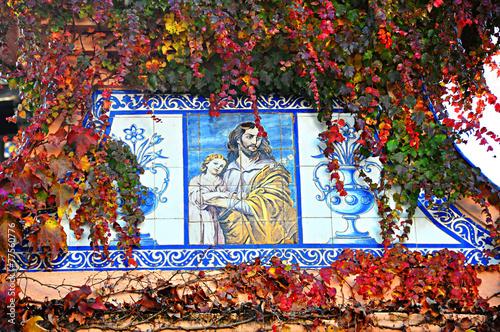 Ciudades turísticas, Ronda, Málaga, cerámica religiosa