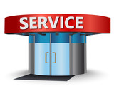 Service center poster