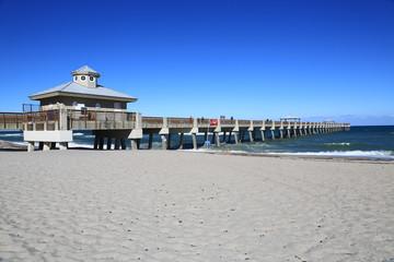 Fishing pier in Juno Beach, Florida