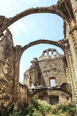 Old Ruins Madrid Spain