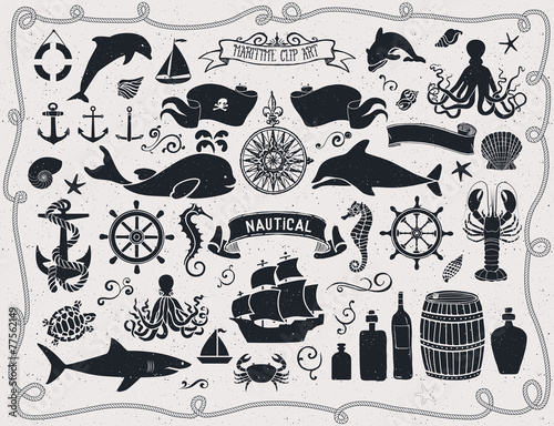 Maritime Clip Art - 77562149