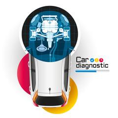 X-ray Car Diagnostic