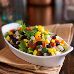 cowboy caviar with corn and black beans