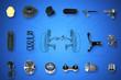 Leinwanddruck Bild - Suspension and steering parts