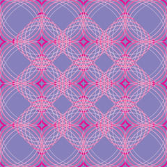 pink duplicated diamonds