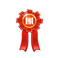 Vector award ribbon