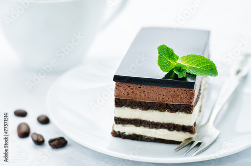 Opera cake - 77571514