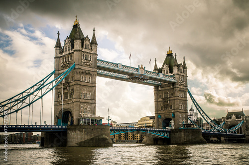 Staande foto Bruggen Tower Bridge London, UK