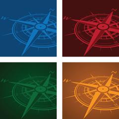 compass background set