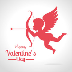 Valentines day design, vector illustration.