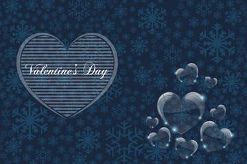 Sevgililer günü kartı