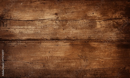 Tuinposter Hout old wooden background