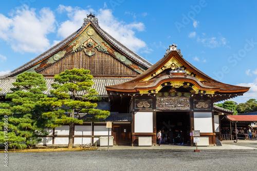 Plexiglas Japan Nijo Castle in Kyoto