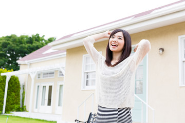 young asian woman lifestyle image