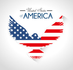 USA design, vector illustration.