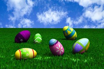 Easter spring.