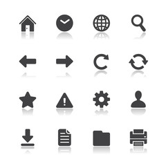 Website and Toolbar Icons