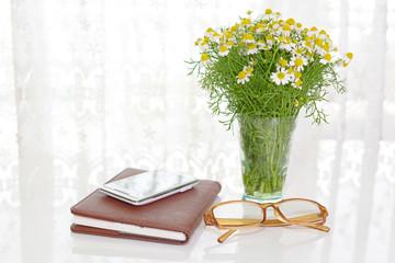 スマートフォンと眼鏡