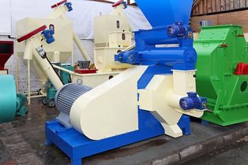 Biomass production equipment