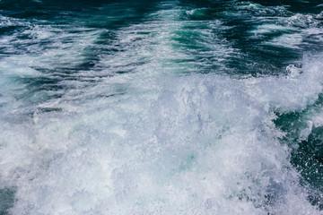 Speedboat trail