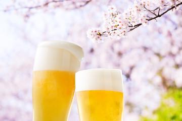 ビール(桜)