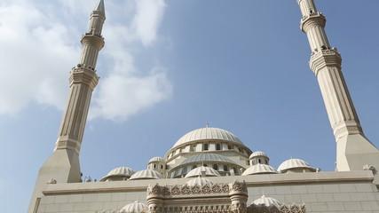 Mosque in Sharjah city United Arab Emirates UAE