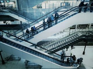 Gare train départ