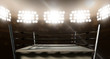 Vintage Boxing Ring In Arena - 77594731